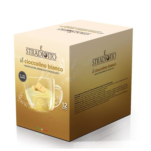 Stradiotto extra sűrű fehér forró csokoládé 15×25 g