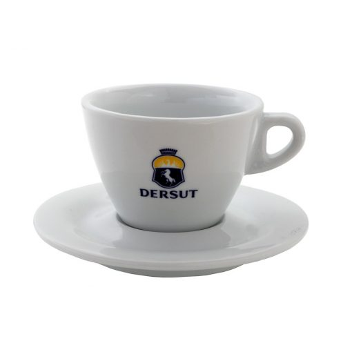 Dersut porcelán espresso csésze + csészalj