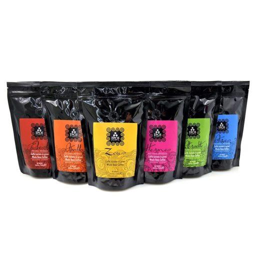Epos Caffé kézműves szemes kávé kóstoló csomag 5×250 g