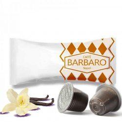 Caffé Barbaro prémium vaníliás Nespresso kávékapszula 10 db