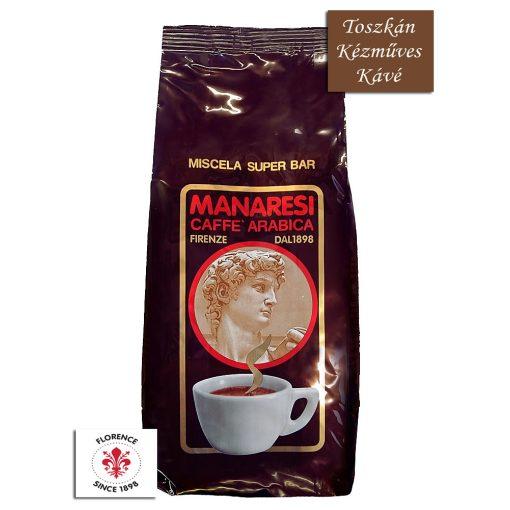 Caffé Manaresi Super Bar kézműves szemes kávé 1 kg