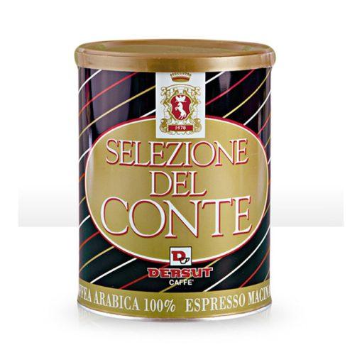 Dersut Selezione del Conte 100% arabica őrölt kávé 250 g