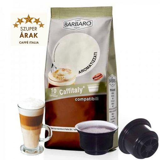 Caffé Barbaro csokis tejeskávé Tchibo Cafissimo kompatibilis kapszula