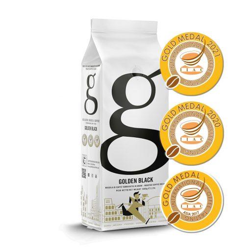 Golden Brasil Coffee Golden Black szemes kávé 1 kg
