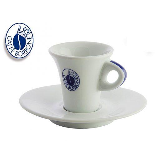 Caffé Borbone porcelán espresso csésze + csészealj