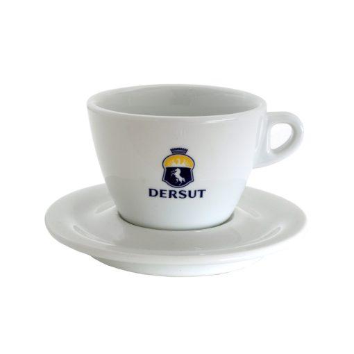 Dersut porcelán cappuccino csésze + csészalj