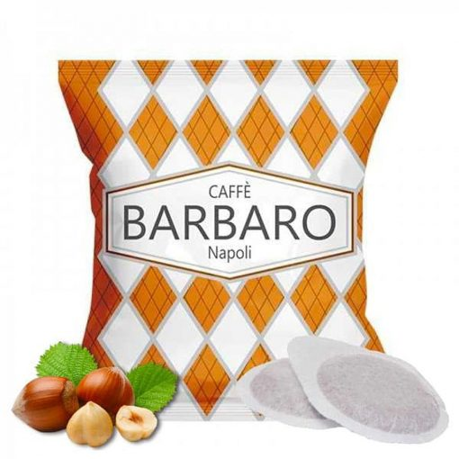 Caffé Barbaro mogyorós ízesítésű prémium ESE Pod kávépárna