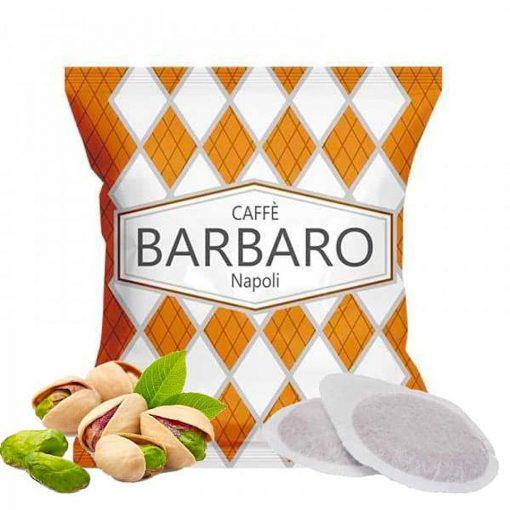 Caffé Barbaro pisztáciás ízesítésű prémium  ESE Pod kávépárna
