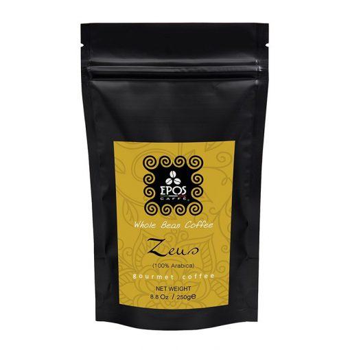 Epos Caffé Zeus 100% arabica kézműves szemes kávé 250 g