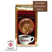 Caffé Manaresi Gold Espresso kézműves őrölt kávé 250 g