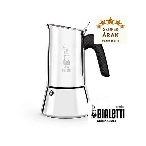 Bialetti Venus 4 személyes kotyogós inox kávéfőző