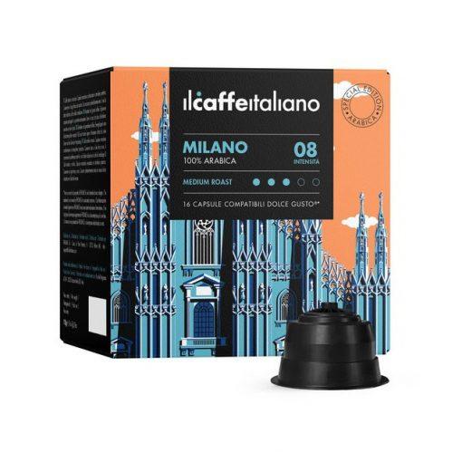 Il Caffé Italiano Milano 100% arabica Dolce Gusto kávé kapszula 10 db