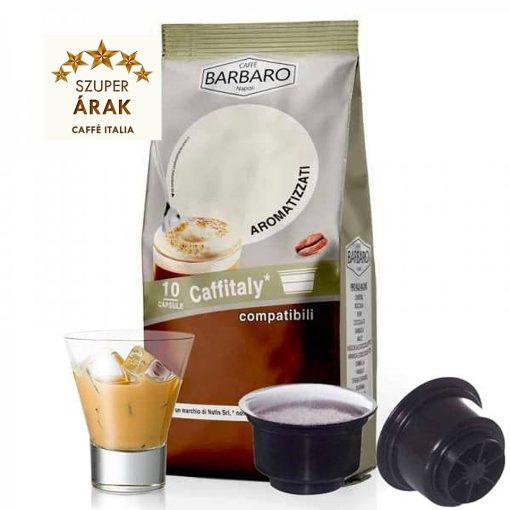 Caffé Barbaro ír krémes ízesítésű Tchibo Cafissimo kompatibilis kapszula 10 db