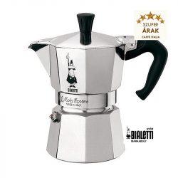 Bialetti Moka Express 1 személyes kotyogós kávéfőző
