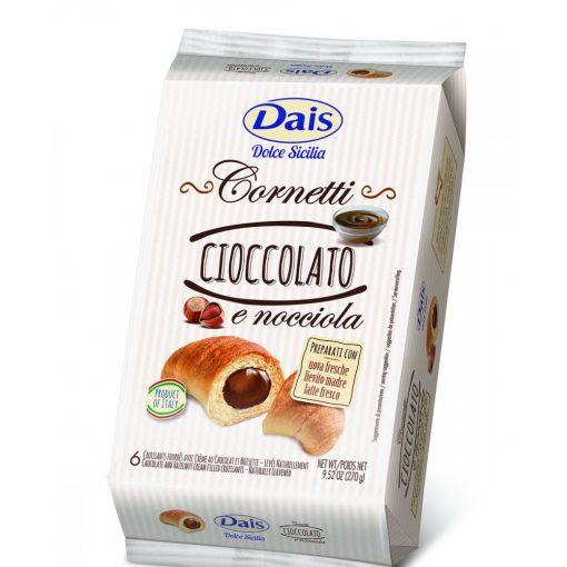 Dais csokoládés mogyorókrémes croissant 6 db