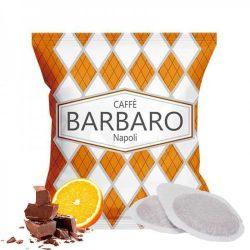 Caffé Barbaro narancsos-csokis ízesítésű prémium ESE Pod kávépárna