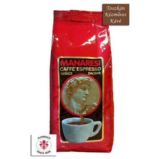 Caffé Manaresi Espresso Rosso prémium olasz szemes kávé 1 kg