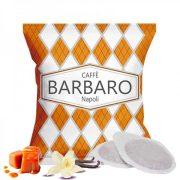 Caffé Barbaro vaníliás krém karamell ízesítésű prémium ESE Pod kávépárna