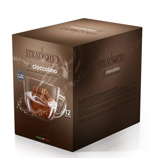 Stradiotto extra sűrű pisztáciás forró csokoládé 15×25 g