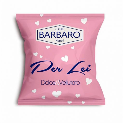 """Caffé Barbaro Per Lei """"a Női kávé"""" ESE pod kávépárna 10 db"""