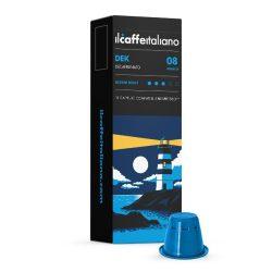 Il Caffé Italiano DEK koffeinmentes Nespresso kompatibilis kapszula