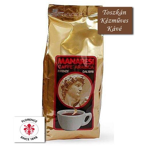 CAFFÉ MANARESI GOLD ESPRESSO KÉZMŰVES SZEMES KÁVÉ 1 KG