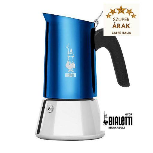 Bialetti Venus Blue 4 személyes kotyogós inox kávéfőző