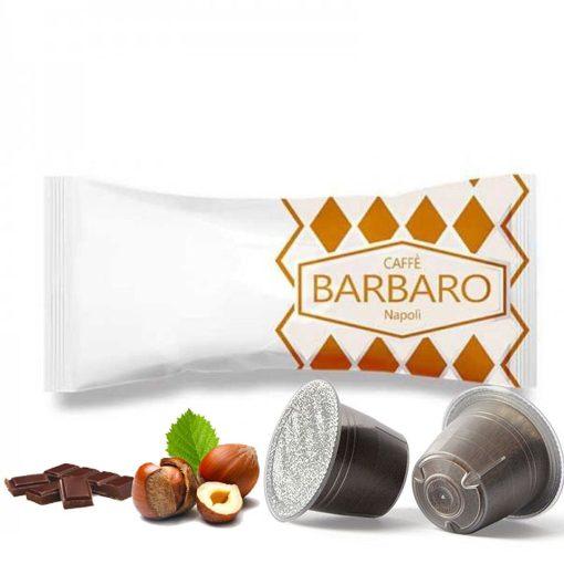 Caffé Barbaro mogyorós csokis Nespresso kapszula 5 db