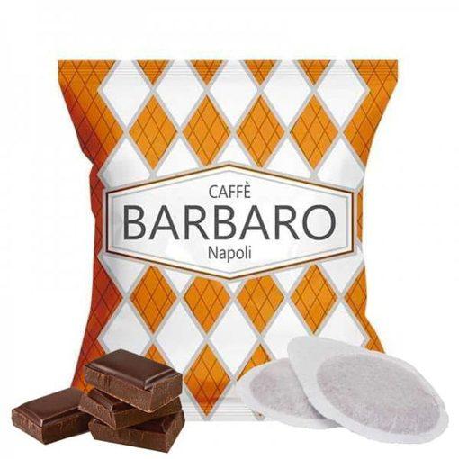 Caffé Barbaro csokoládés ízesítésű prémium ESE Pod kávépárna