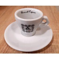 Epos Caffé porcelán espresso csésze + csészealj