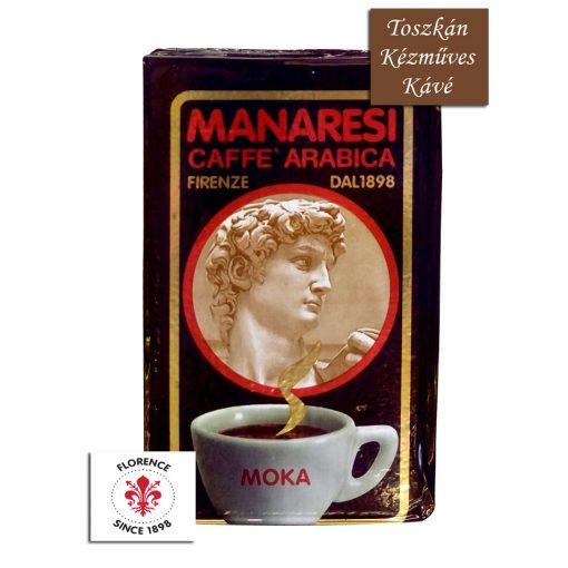 Caffé Manaresi Brown Moka kézműves őrölt kávé 250 g