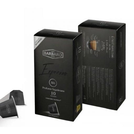Caffé Barbaro Espresso Corposo prémium alumínium Nespresso kapszula 10 db