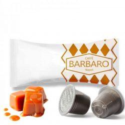 Caffé Barbaro karamellás Nespresso kávékapszula 5 db