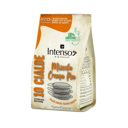Intenso Crema Piu ESE Pod kávépárna 10 db