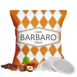 Caffé Barbaro mogyorós-csokis ízesítésű prémium ESE Pod kávépárna