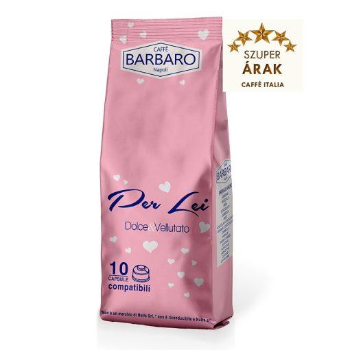 """Caffé Barbaro Per Lei """"a Női kávé"""" Dolce Gusto kávékapszula 10 db"""